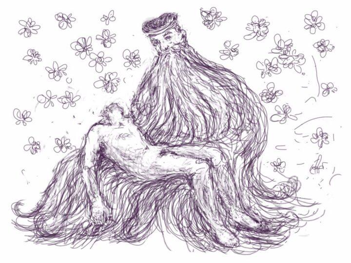 Han Klinkhamer: daily iPad drawing 18 November 2011