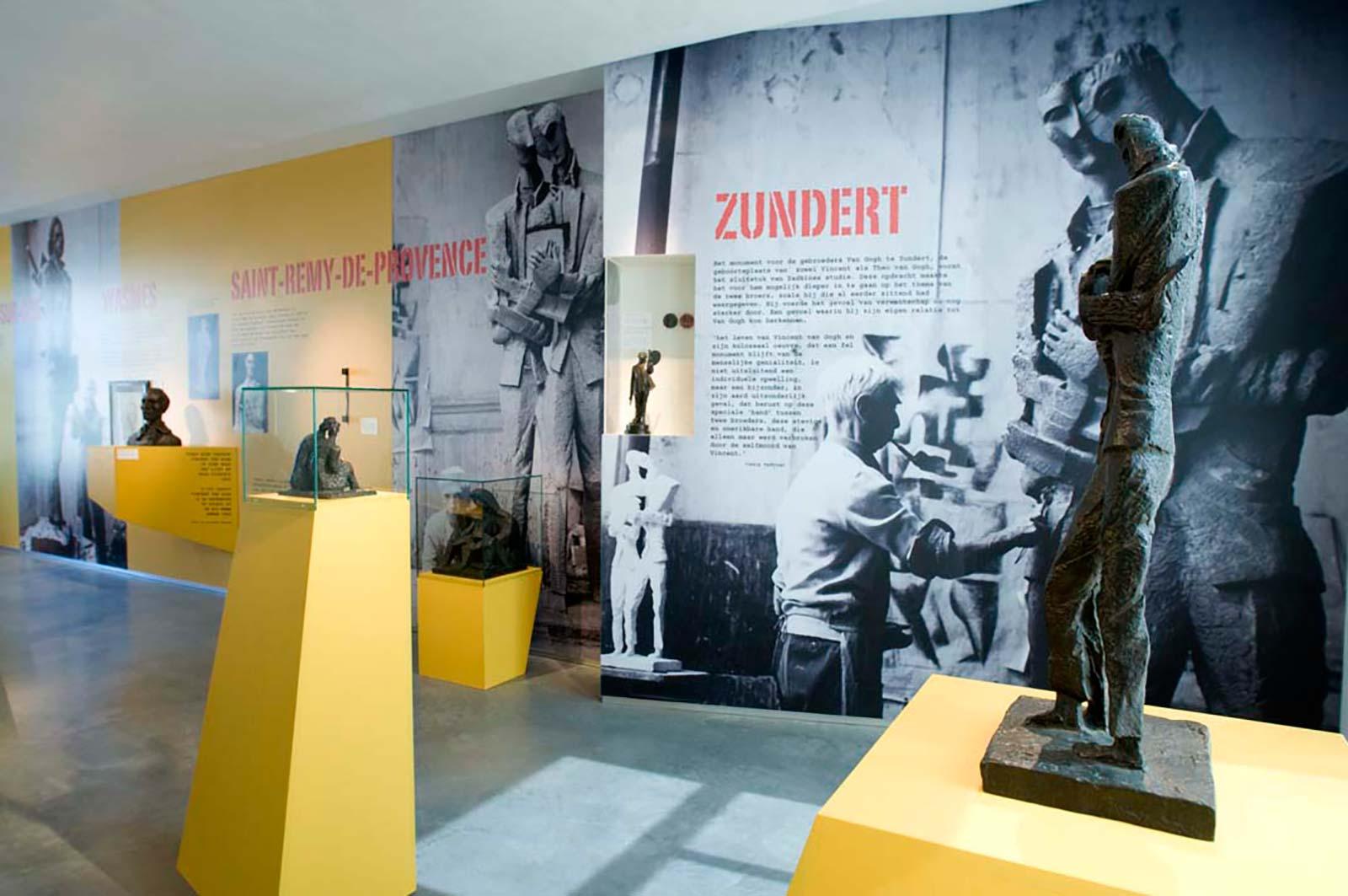 expositie Zadkine & Van Gogh