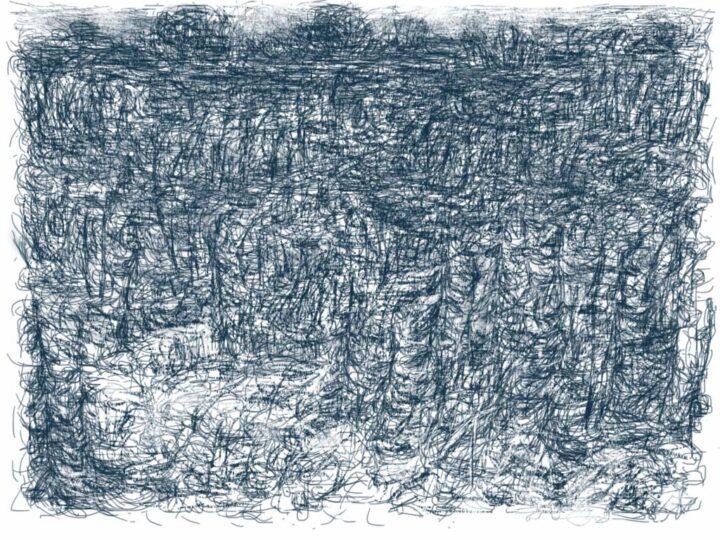 Han Klinkhamer: daily iPad drawing 3 November 2011