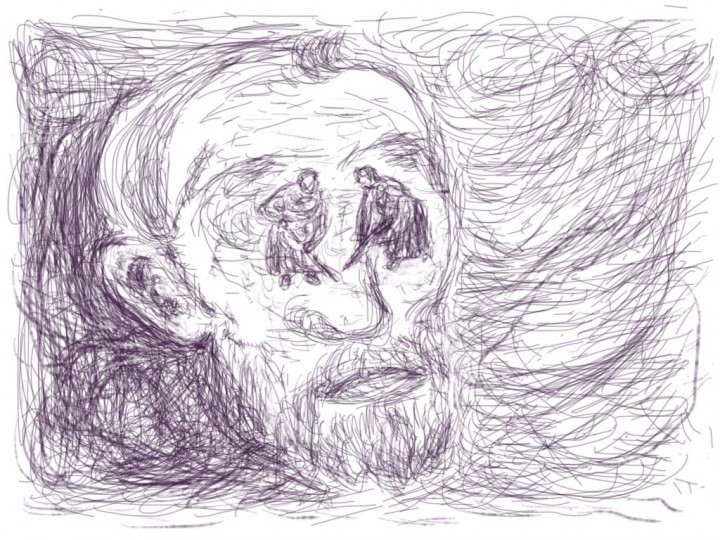 Han Klinkhamer: daily iPad drawing 15 November 2011