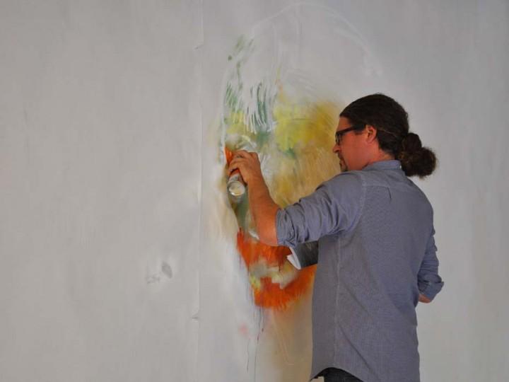 Rutger Termohlen, artist-in-residence Van GoghHuis, January 2013
