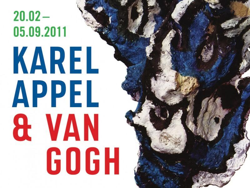 Affiche Karel Appel & Van Gogh