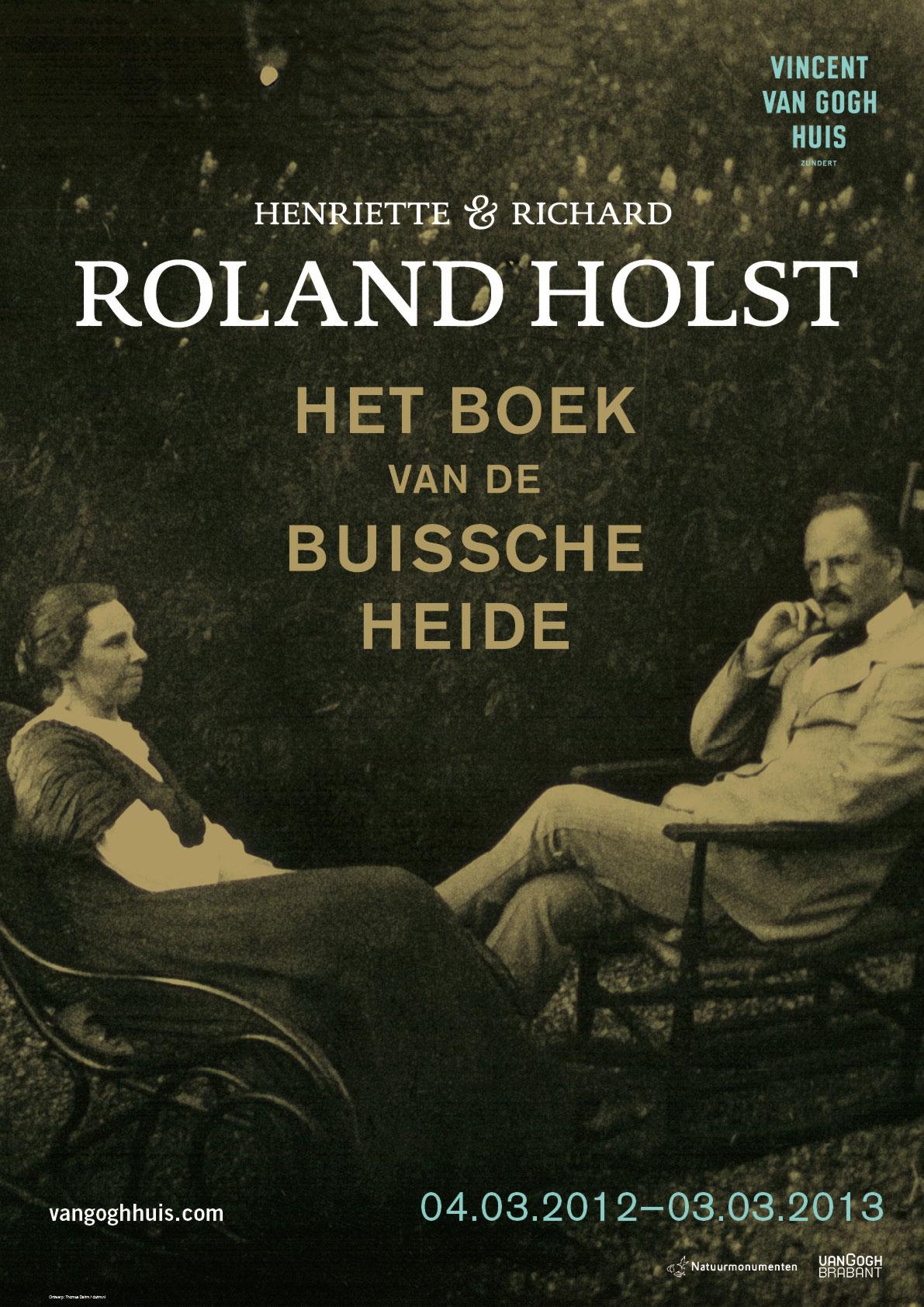 Affiche Roland Holst Het boek van de Buissche Heide