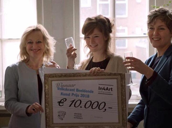 Anne Geene wint Volkskrant Beeldende Kunst Prijs